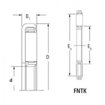 ตลับลูกปืน FNTK-4567 Timken
